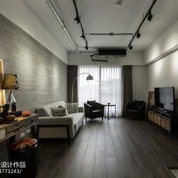 LOFT风格小户型客厅装修图