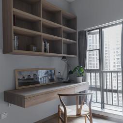 整洁日式书房设计