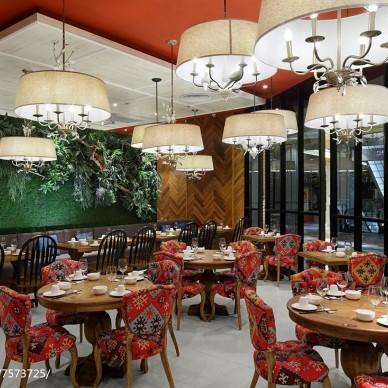 创意主题餐厅室内设计