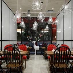 工装芳满庭餐厅设计