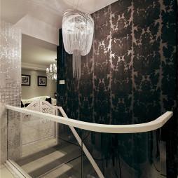 时尚欧式风格楼梯装修