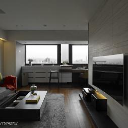 现代风格简洁客厅设计