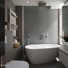 现代风格小卫浴设计