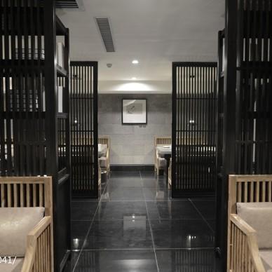 麻辣养生火锅餐厅过道设计