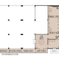 赣州经济开发区企业产业展厅室内装修设计方案(深化篇)_2578685