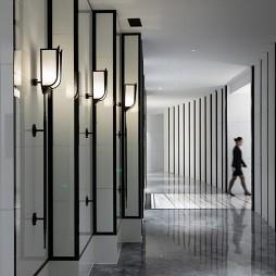 富邦精品酒店过道设计案例
