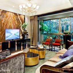古韵中式风格客厅设计
