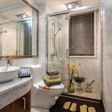 现代风格三居室卫浴设计案例