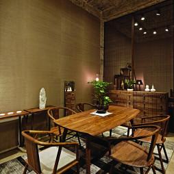 家具店原木餐厅设计