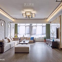 休闲中式风格客厅设计