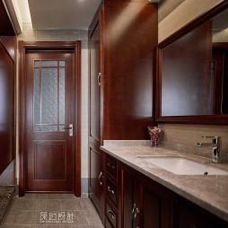 中式休閑衛浴設計