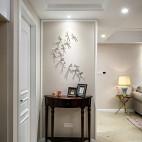 美式风格四居室玄关设计