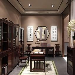 家具旗舰店书房设计