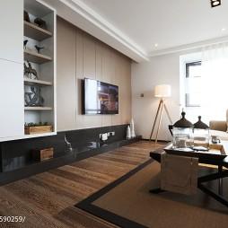 简欧风格三居室客厅设计案例
