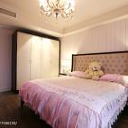 粉色系欧式风格儿童房设计