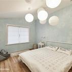LOFT风格简约卧室布置