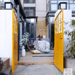 简约风格二居室花园设计
