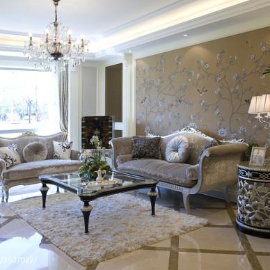 素雅欧式风格客厅装修