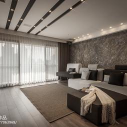 LOFT风格四居室客厅装修