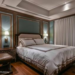 沉稳欧式风格别墅卧室设计