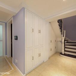 法式风格复式楼梯装修