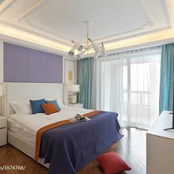 精美法式风格卧室布置