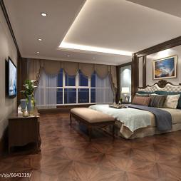 通和桂园美式卧室角度1_2591254