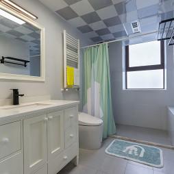 清新现代风格卫浴装修