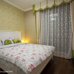 美式二居室卧室布置