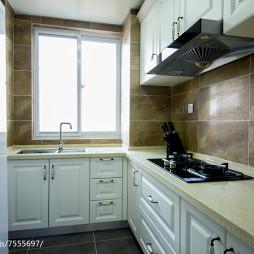 美式三居室厨房装修