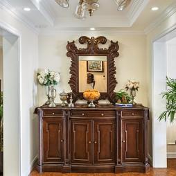 自然美式二居室玄关装修