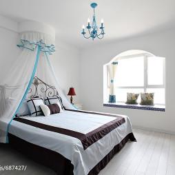 清新地中海风格卧室设计