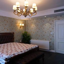美式别墅卧室装饰图