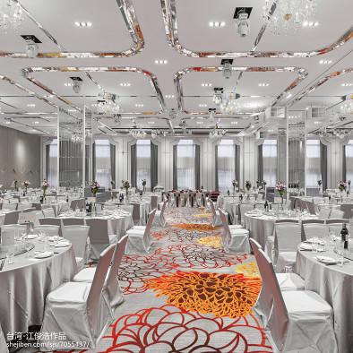 白金花园酒店宴会厅设计
