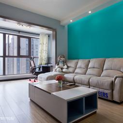 简约风格二居室客厅效果图