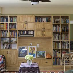 家装混搭风书架设计