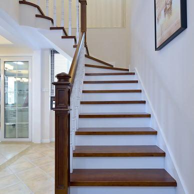 美式楼梯设计