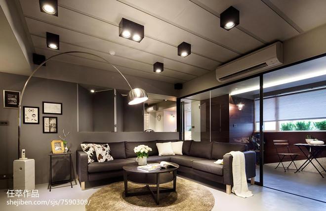 现代风格别墅客厅效果图欣赏
