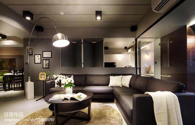 现代风格别墅客厅装饰图