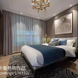 雅致中式卧室装修