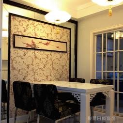 新中式餐厅装修