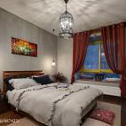 LOFT风格创意卧室效果图