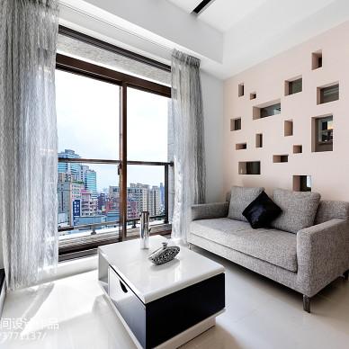 舒适现代风格客厅设计图片