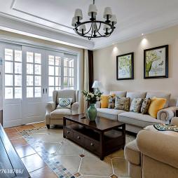 质朴现代风格客厅装修