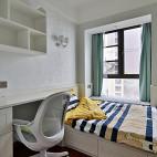中式风格三居室儿童房装修