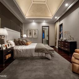 欧式豪华别墅卧室布置