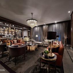 欧式豪华别墅客厅装修案例