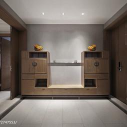 家装中式风格鞋柜装修
