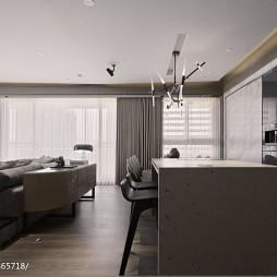 家装现代风格吧台装修