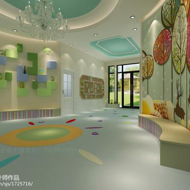 郑州国龙英才幼儿园设计 郑州幼儿园设计公司_2600385